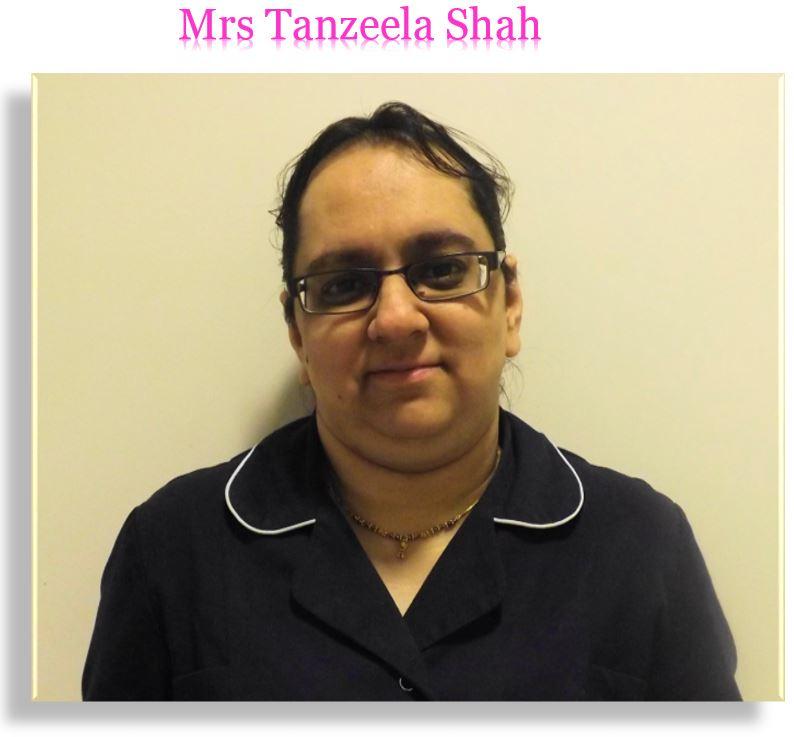 Mrs Tanzeela Shah
